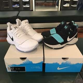 耐克 Nike PG 1 EP 保羅喬治1代籃球鞋 孔雀藍 878628-002