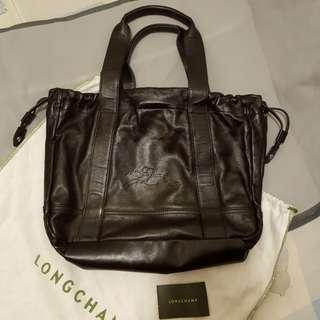 Longchamp 皮手袋