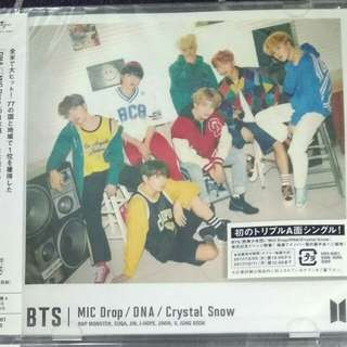 BTS 8th Japanese Single MIC DROP/DNA/Crystal Snow (Version A + C)