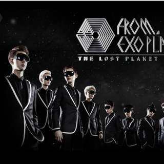 EXO FROM PLANET #1 DVD
