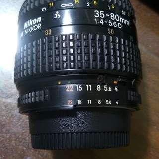 Nikon AF NIKKOR 35-80/4-5.6