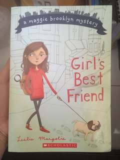 Girl's Best Friend by Leslie Mangolis #bajet20