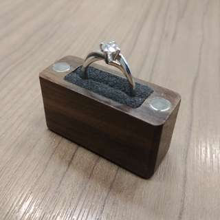 ✴️Handmade Wooden Slim Proposal Ring Box💍
