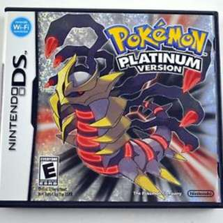 Looking for these games Pokemon DS/3DS platinum omega ruby Oras white 2