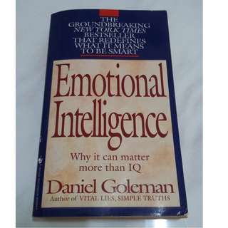 [Educational Book] Emotional Intelligence: Why It Can Matter More Than IQ