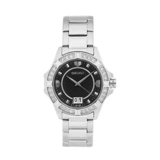 Preorder Seiko Watch Lord Silver Stainless-Steel Case Stainless-Steel Bracelet Ladies SUR807P1