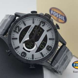 Fossil dualtime chain