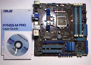 ASUS P7H55M-Pro Motherboard
