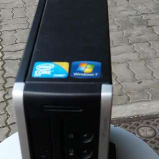 Mini Size Computer Unit.. Slim And Portable.. Core 2 Duo... With Adapter $150..call Or Watsapp 90899511