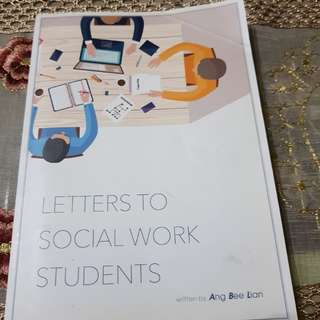 Letters to social work students