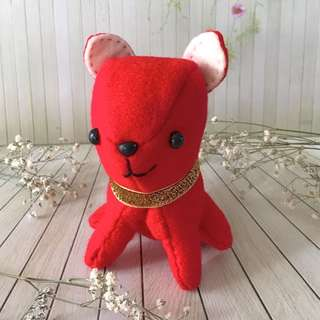Red puppy doll