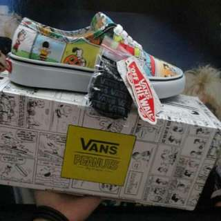 Vans Authentic Snoopy Peanuts Comic True   Waflee ICC PREMIUM BNIB