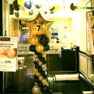 Balloon columns anniversary promotion balloon decoration