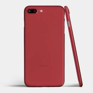 Totallee iPhone 8 Case (Burgundy Red)