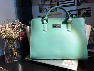 Hand Bag/ Tiffany color