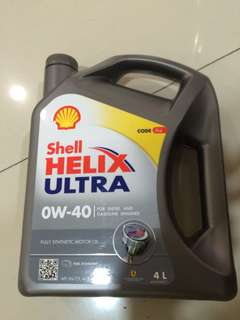 Shell Helix Ultra OW-40 for gas & diesel