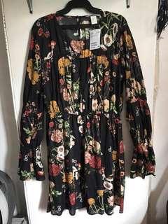 New! H&M floral dress