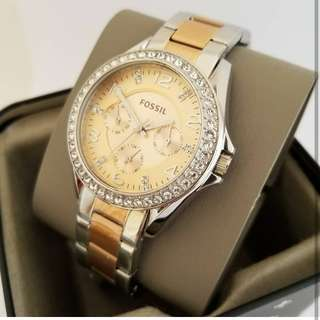 Fossil Rose Gold Watch