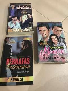 Novel Melayu by Hani Fazuha and Xuanza