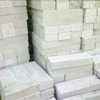 Bata putih dan bahan bangunan lain bisa cicil tanpa CC