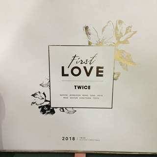 Twice First Love Season Greetings