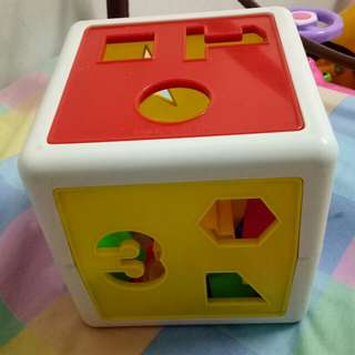 numbers and shapes block