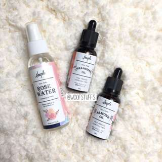 Rose Water + Face Oil by Haple