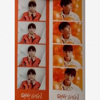[WTB/LF] Jbj true colours sanggyun photo strip + handprint + CD