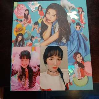 Red Velvet 迷你四輯 Rookie Joy Ver + Wendy,Yeri小卡