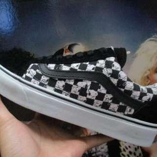 Vans Vans Oldskool Snoopy Peanuts Checkerboard Size : 40/41/42/43/44