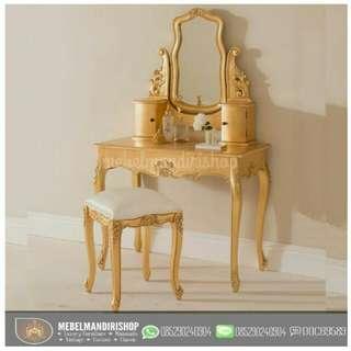 Meja Rias Gold