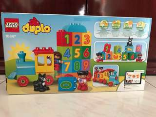 Lego Duplo My First Number Train Set