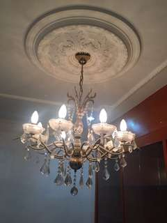 Crystal Chandelier 2 units