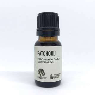 Patchouli Essential Oil (Organic)