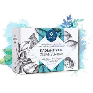 Biconi Radiant Skin Natural Face Cleanser Bar 100g
