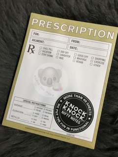 Knock Knock - Prescription Pad