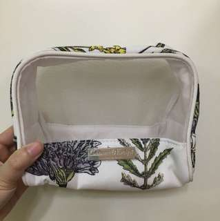 Crabtree and Evelyn make up bag