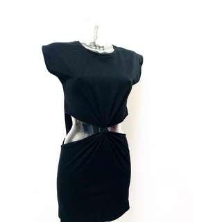 t-shirt dress • topshop • small