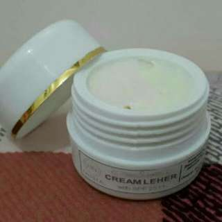 Cream Leher HN Crystal Original