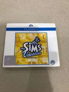 Cd box C1 - The Sims Vacation