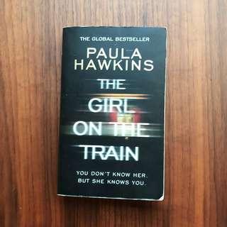 The Girl On The Train Book by Paula Hawkins