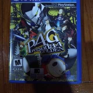 PS Vita Game Persona 4 Golden