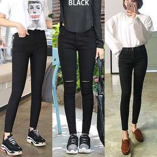 [Readystock] Stretchable Skinny Jeans