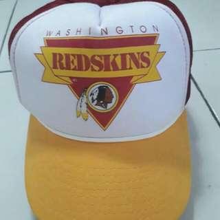 Caps trucker NFL redskins