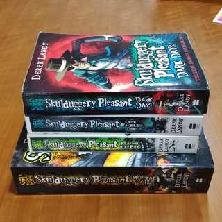 Pre-loved Books - Skulduggery Pleasant Series