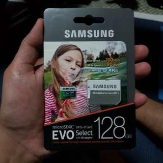 Samsung 128GB Evo Select Micro SD Card