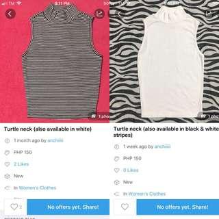 Buy 1 take 1 turtle neck top