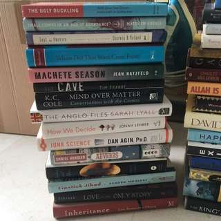 Book sale - buy 2 get 3rd free