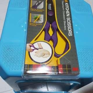 (New) Scotch Titanium Kitchen Scissors