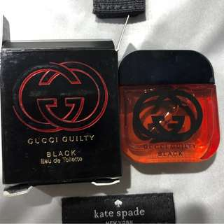 Gucci guilty sample size perfume